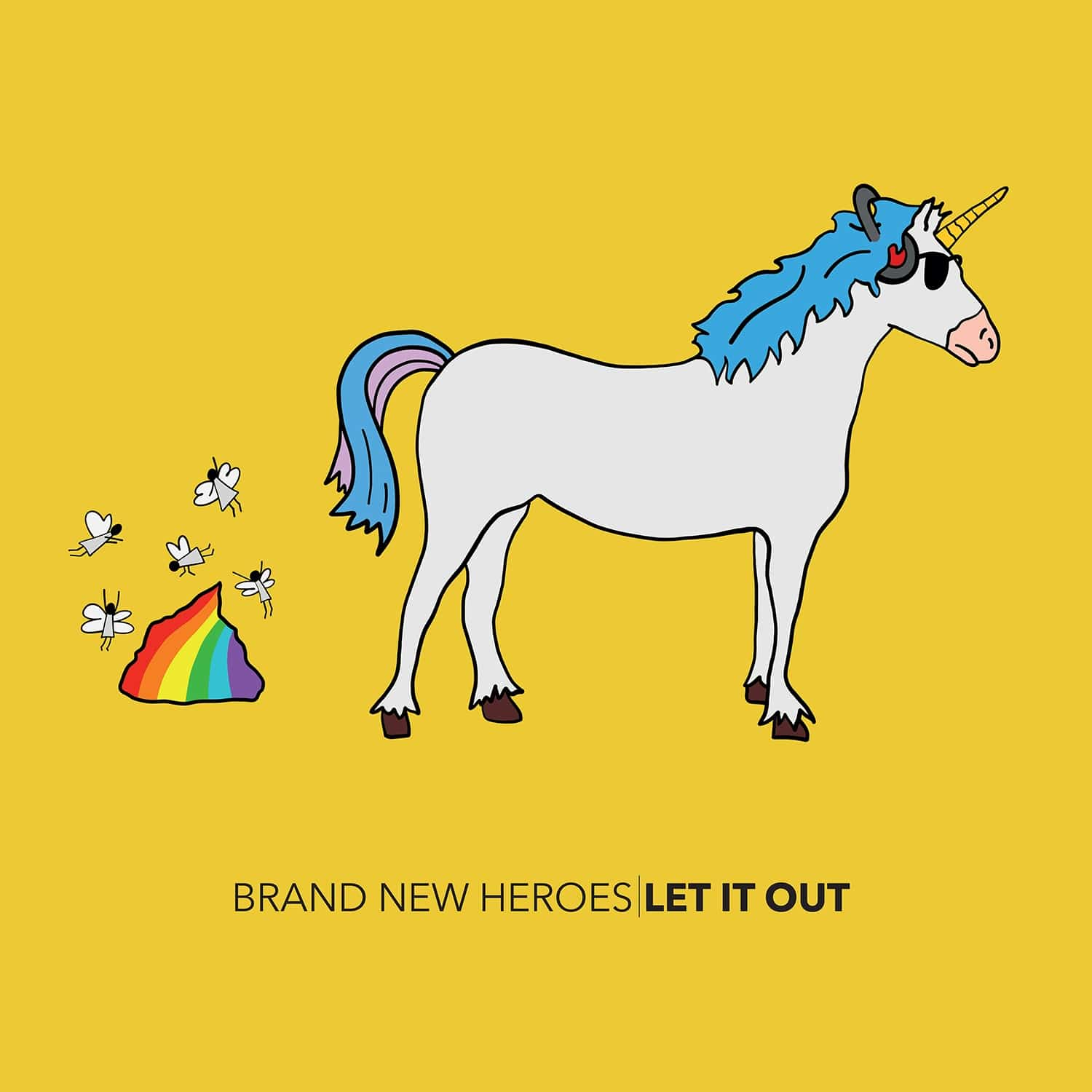 Artwork of Let It Out by Brand New Heroes